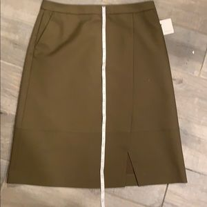 Halogen Skirts - NEW!! HALOGEN Khaki Skirt